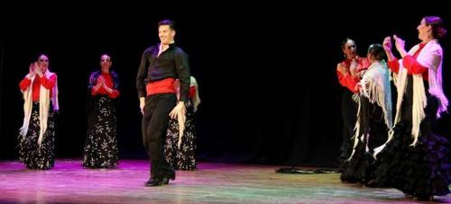 Almuñécar acogió con éxito el espectáculo flamenco 'Sentir'