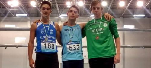 Atletas sexitanos participan en el control de marcas del pasado sábado en Sevilla