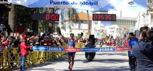 Éxito del Campeonato de España de Marcha en Ruta celebrado en Motril