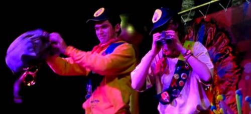 Concurso de disfraces 'Gran Fiesta del Carnaval' Almuñécar 2016. 1er premio Individual 'Los boys scout up'