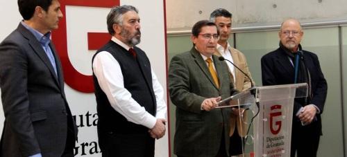 """Diputación considera """"un desprecio a la provincia"""" que ADIF cancele """"a última hora"""" una reunión para tratar la situación de aislamiento ferroviario de Granada"""