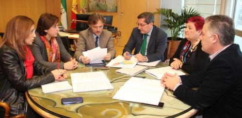 Diputación y Junta acuerdan completar la red de depuración de agua de la provincia
