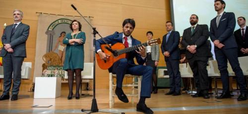 El Himno de Andalucía con Juan Habichuela nieto