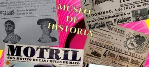 El Museo de Historia de Motril acoge desde este miércoles una exposición que repasa los 100 años de tauromaquia en la capital de la Costa Tropical