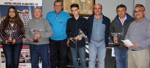Francisco Orantes Taboada se proclama en Almuñécar campeón provincial juvenil de ajedrez