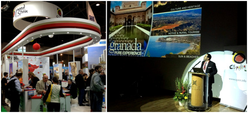 Granada vende por primera vez  su oferta turística en Israel