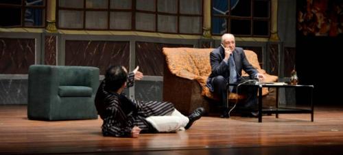 La obra teatral 'La Cena de los idiotas' divirtió al público sexitano