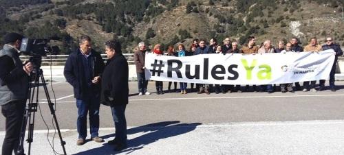 La plataforma 'Granada en Marcha' se presenta públicamente reivindicando la ejecución de las canalizaciones de Rules