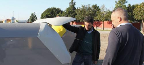 LIMDECO adquiere nuevos contenedores bilaterales de superficie gracias a la inversión del Ayto. de Motril