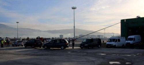 Llegan los primeros pasajeros de la línea marítima entre los puertos de Tánger y Motril
