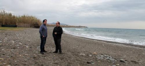 Punta del Río, la 'nueva' playa de Salobreña