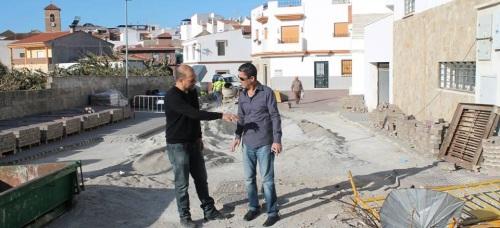 Salobreña_Comienzan las obras de reparación de daños ocasionados por las fuertes lluvias
