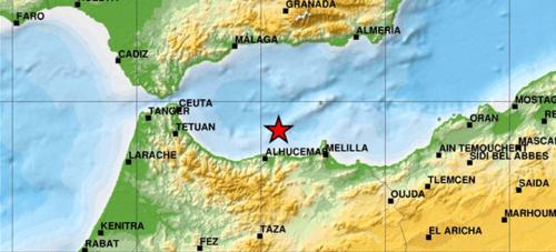 Seísmo de 5.1 grados de magnitud localizado en el Alborán Sur