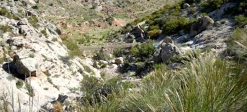 Senderistas sexitanos recorrerán este domingo la ruta de Las Palomas en la Sierra de Gádor