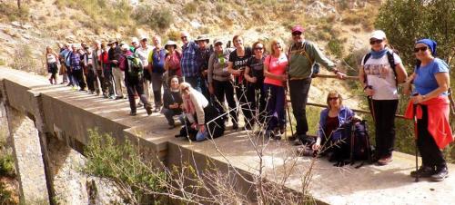 Una treintena de senderistas sexitanos realizaron la ruta entre el Pico de Ítrabo y Lobres