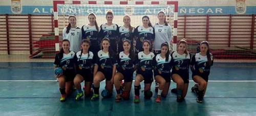 Victoria del BM Almuñécar en la segunda vuelta de la Primera Andaluza juvenil femenino