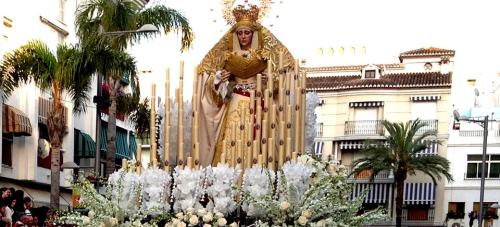 Almuñécar_Semana Santa_Virgen de los Dolores