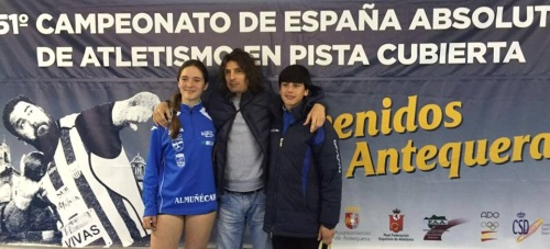 Buena participación de los atletas sexitanos en el Campeonato de Andalucía Cadete