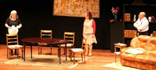 Éxito de público de '7D7 Teatro' con 'Las mujeres los prefieren pachuchos'