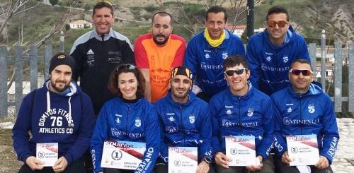 Circuito de Carreras por Montaña Diputación de Granada 2016. Reinicio de programa para el Atletismo Sexitano con 5 podios