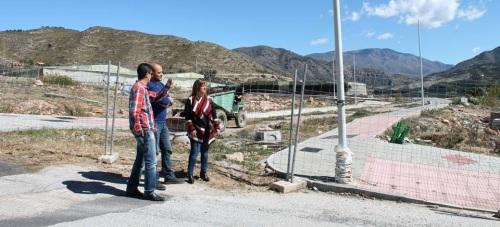 Dan comienzo las obras de urbanización de la zona norte de Lobres