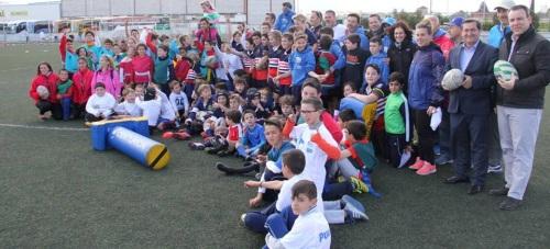 Diputación reúne a casi 800 niños y niñas en los Juegos Deportivos Escolares