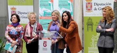 Diputación regresa a la Plataforma 8 de Marzo para celebrar el Día Internacional de la Mujer