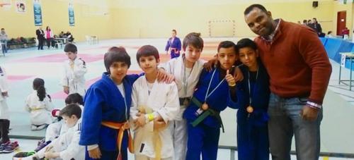 EL Club de Judo de Almuñécar consiguió catorce metales en la III jornada del Circuito Provincial