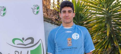 El herradureño cadete Jorge Carrión elegido para la Selección Granadina de Fútbol