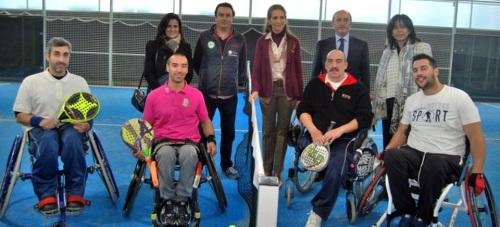 El proyecto 'Pádel sin límites' de la FA se hace realidad