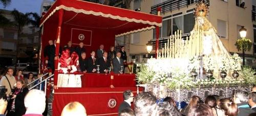 La Agrupación de Cofradías de Semana Santa de Almuñécar acordó la ubicación de la tribuna oficial en la Avenida de Andalucía