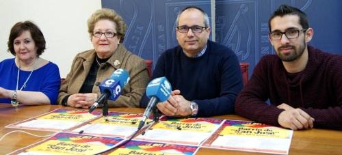 La calle Ancha celebra las fiestas de 'San José' este próximo fin de semana