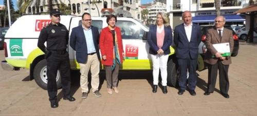La Policía Local de Almuñécar queda integrada en el sistema de emergencias 112
