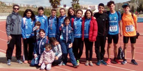 Los atletas del Club Multideporte Sexitano lograron 8 podios, 3 oros, 2 plata y 3 bronces