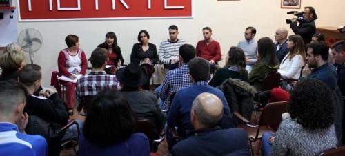 Los jóvenes socialistas reivindican la igualdad real entre hombres y mujeres