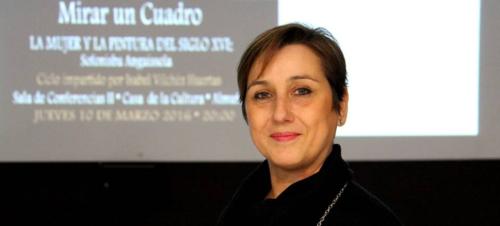 Magistral conferencia de Isabel Vílchez Huertas en la apertura del ciclo 'Mirar un cuadro'