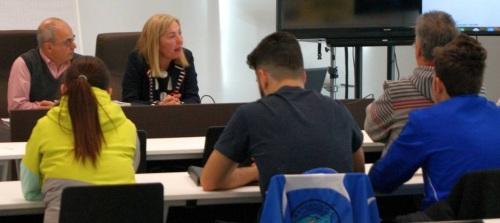 María Ángeles Escámez inaugura el Curso Básico de Protección Civil