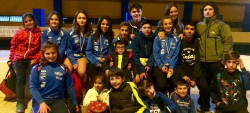 Ocho podios del Club Multideporte de Almuñécar en el Circuito Malagueño de Atletismo en Pista