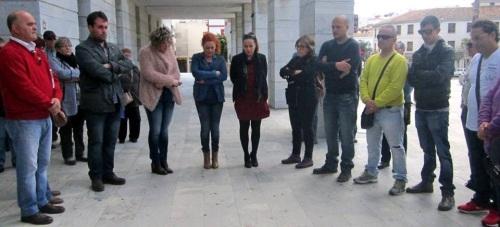 Salobreña guarda  un minuto de silencio como muestra de condena a los atentados de ayer en Bruselas