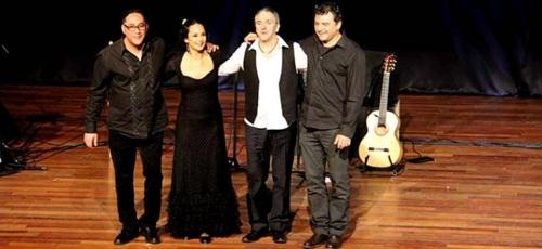 """Tomás García presentó en Almuñécar el espectáculo flamenco """"Lágrimas de cristal"""""""