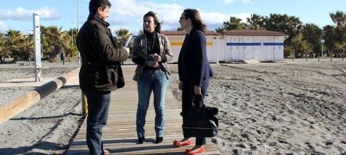 Un dispositivo especial acondiciona las playas motrileñas para Semana Santa