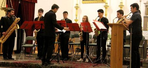 Almuñécar acogió un interesante concierto de alumnos y profesores del Conservatorio de Motril