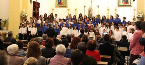 Almuñécar celebró con éxito el I Encuentro de Coros Voces Blancas