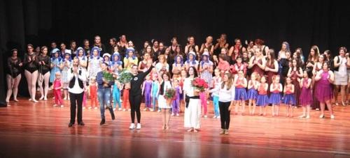 Almuñécar celebró con éxito total el Día Internacional de la Danza
