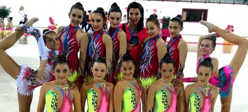 Bronce de la Gimnasia Rítmica sexitana en el Campeonato Promesas Copa y Precopa de Andalucía Oriental 2016