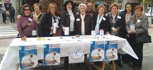 Ciudadanos Motril apoya con su equipo de voluntariado a la Asociación Parkinson Motril