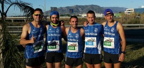 El Atletismo Sexitano en la Media Maratón de Málaga 2016. El Padrino mueve sus hilos