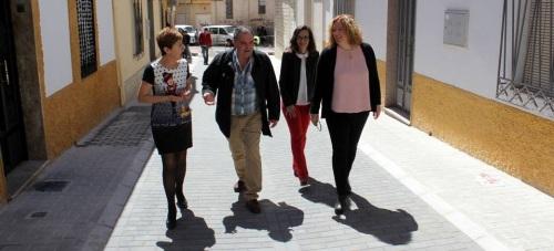 El Ayto. de Motril concluye las obras de mejora en las calles Tejeros y Alceo
