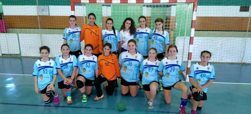 El BM Almuñécar femenino gana el campeonato provincial cadete e infantil