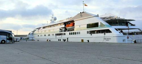 El crucero Tere Moana, un ejemplo de fidelización con el Puerto de Motril